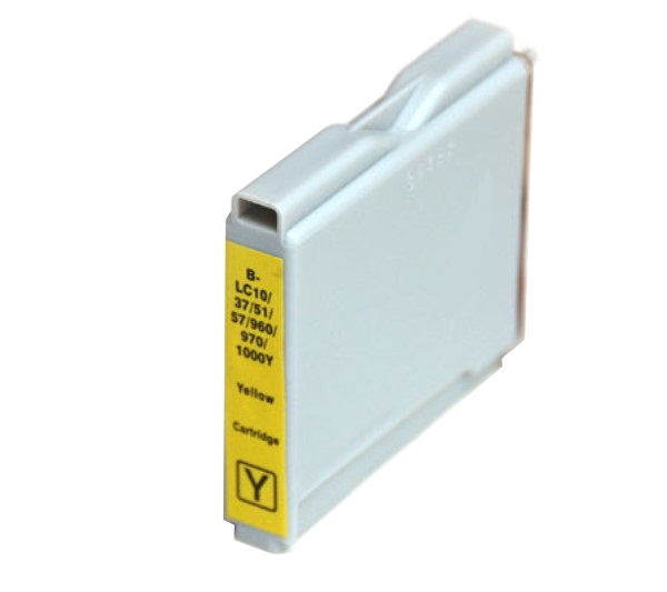 Compatible Brother LC57 Yellow ink cartridge