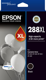 Genuine Epson 288XL Black Ink Cartridge