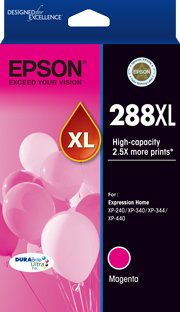 Genuine Epson 288XL Magenta Ink Cartridge