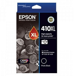Genuine Epson 410XL Photo Black Ink Cartridge
