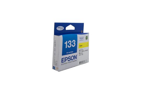 Genuine Epson 133 Yellow ink cartridge