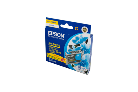 Genuine Epson T0632 (Cyan) ink cartridge
