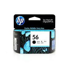 Genuine HP56 (Black) ink cartridge (C6656A)