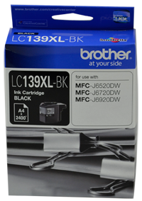 Genuine Brother LC139XL BK (Black) ink cartridge