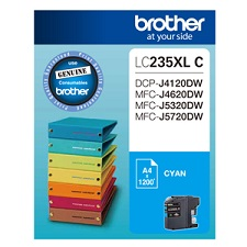 Genuine Brother LC235XLC (Cyan) ink cartridge