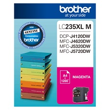 Genuine Brother LC235XLM (Magenta) ink cartridge