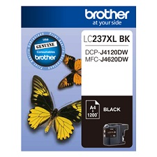 Genuine Brother LC237XLBK (Black) ink cartridge
