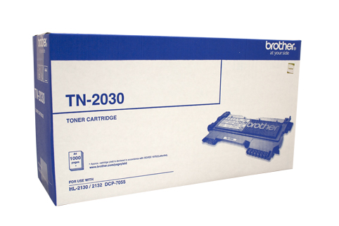 Genuine Brother TN2030 Black laser toner cartridge