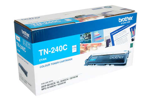 Genuine Brother TN240 Cyan laser toner cartridge