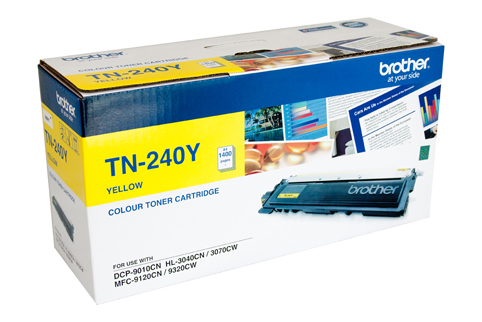 Genuine Brother TN240 Yellow laser toner cartridge