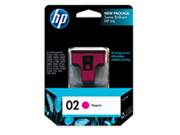 Genuine HP02 Magenta ink cartridge (C8772WA)