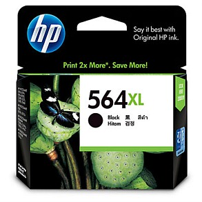 Genuine HP564XL Black High Capacity ink cartridge (CN684WA)
