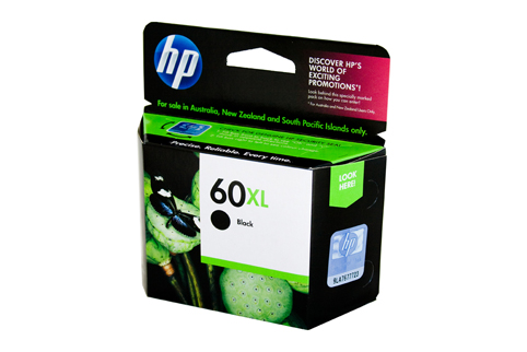 Genuine HP60XL Black ink cartridge (CC641WA)