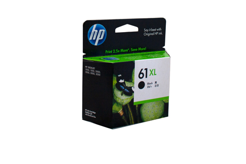 Genuine HP 61XL Black ink cartridge (CH563WA)