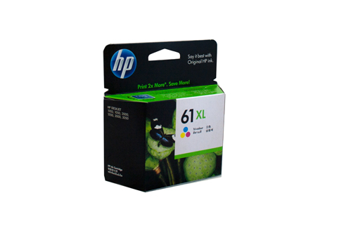 Genuine HP 61XL Colour ink cartridge (CH564WA)
