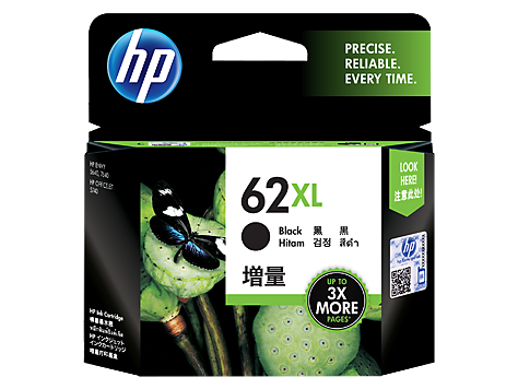 Genuine HP62XL Black Ink Cartridge (C2P05AA)