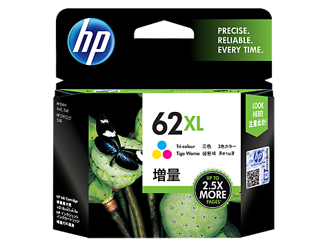 Genuine HP62XL Tri Col Ink Cartridge (C2P07AA)