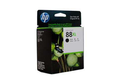 Genuine HP88 XL Black ink cartridge (C9396A)