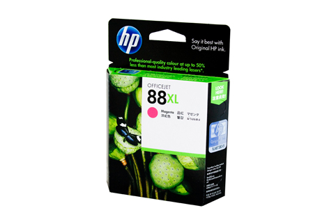 Genuine HP88 XL Magenta ink cartridge (C9392A)