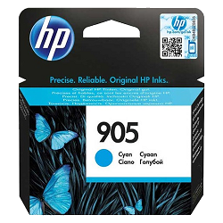 Genuine HP 905 Cyan ink cartridge (T6L89AA)