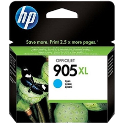 Genuine HP 905XL Cyan ink cartridge (T6M05AA