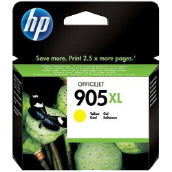 Genuine HP 905XL Yellow ink cartridge (T6M13AA)