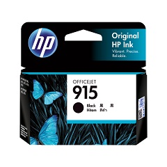 Genuine HP 915 Black ink cartridge