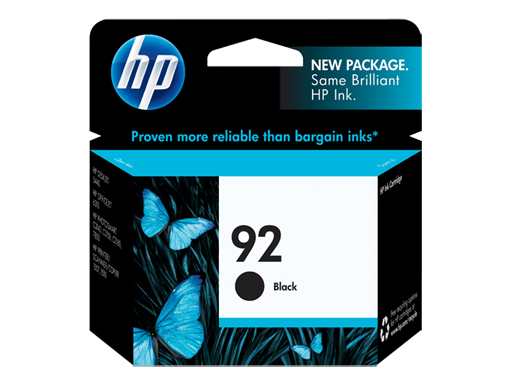 Genuine HP92 Black ink cartridge (C9362WA)