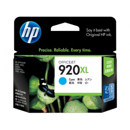 Genuine HP 920XL Cyan High Capacity ink cartridge (CD972AA)