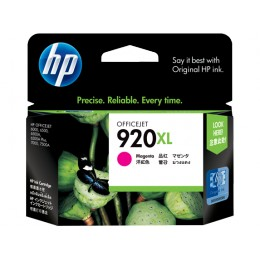 Genuine HP 920XL Magenta High Capacity ink cartridge (CD973AA)