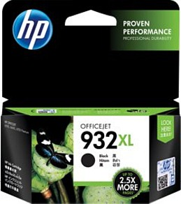 Genuine HP 932XL Black ink cartridge (CN053AA)