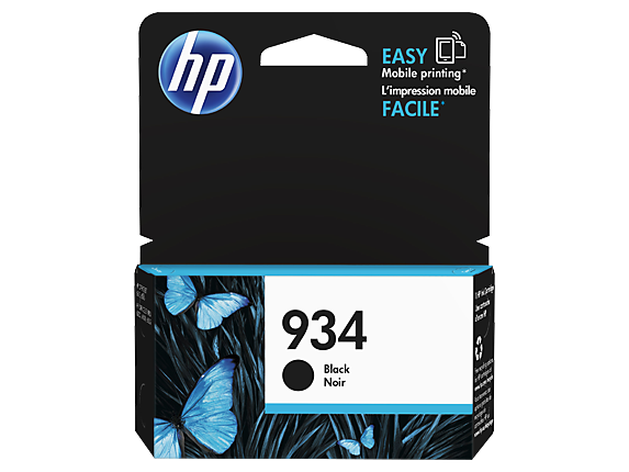 Genuine HP934 Black ink cartridge (C2P19AA)