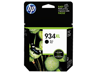 Genuine HP934XL Black ink cartridge (C2P23AA)