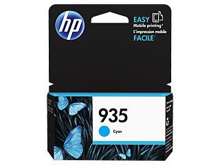 Genuine HP935 Cyan ink cartridge (C2P20AA)