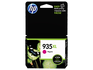 Genuine HP935XL Magenta ink cartridge (C2P25AA)