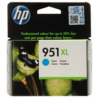 Genuine HP 951XL Cyan ink cartridge (CN046AA)