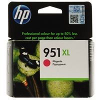 Genuine HP 951XL Magenta ink cartridge (CN047AA)