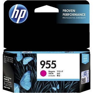 Genuine HP 955 Magenta Ink Cartridge L0S54AA