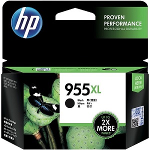 Genuine HP 955XL Black Ink Cartridge L0S72AA