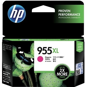 Genuine HP 955XL Magenta Ink Cartridge L0S66AA