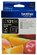 Genuine Brother LC131BK (Black) ink cartridge