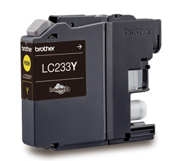 Genuine Brother LC233Y (Yellow) ink cartridge