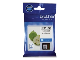 Genuine Brother LC3313C (Cyan) ink cartridge