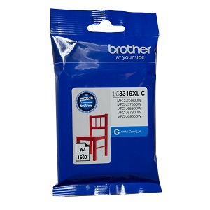 Genuine Brother LC3319XL Cyan Ink Cartridge
