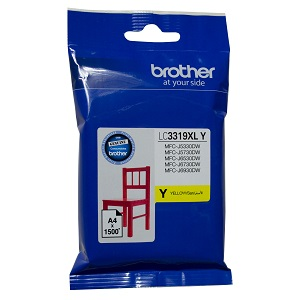 Genuine Brother LC3319XL Yellow Ink Cartridge