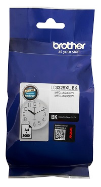 Genuine Brother LC3329XL Black Ink Cartridge