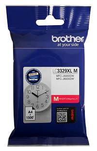 Genuine Brother LC3329XL Magenta Ink Cartridge