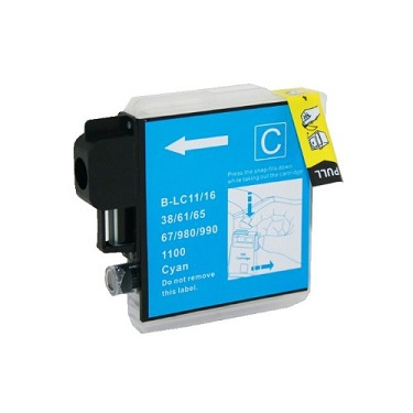 Compatible Brother LC67 Cyan ink cartridge