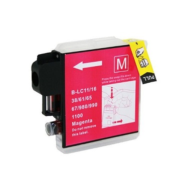Compatible Brother LC38 Magenta ink cartridge