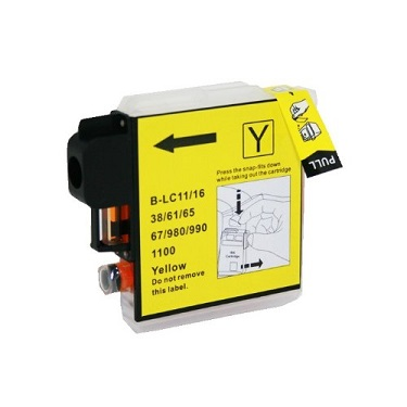 Compatible Brother LC67 Yellow ink cartridge